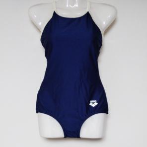 6866a9b7619 アリーナ 女子用競泳水着 ARN-75W XOサイズ ネイビー&ホワイト