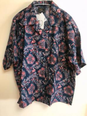 07af96405d06d cardo fabrica 半袖 開襟シャツ