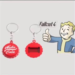 Fallout 76 可愛い ヌカコーラ栓抜き付キーホルダー ケース付