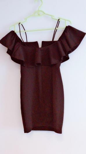 924efd55155e7 メルカリ - ちゃそ 高級ドレス ジャスミン ワインレッド ペプラムミニ ...