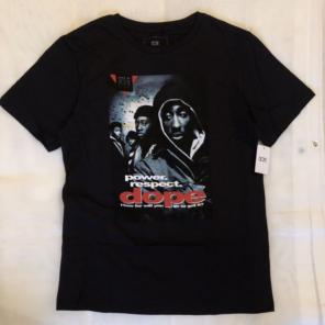 the best attitude ae29b f3135 《新品タグ付き》DOPE Tシャツ 2PAC JUCE