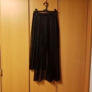 27849e162b89b 美品 アウラアイラ プリーツスカート ロングスカート