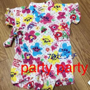 ed6b263d6065d partyparty 甚平 ロンパース 70センチ