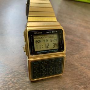 e9812103a7 新品 カシオ データバンク 腕時計 ゴールド商品一覧 - メルカリ スマホで ...