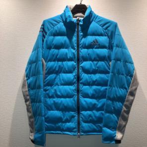 b6cb54beca9dd アディダス adidas ゴルフウェア 中綿 ブルゾン ジャケット ブルー系