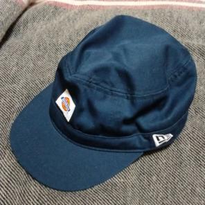 dc8db73d2745 ニューエラ×ディッキーズ ワークキャップ 帽子 ネイビー 紺色 濃紺