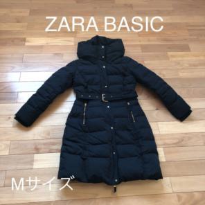 01a16e1f3bc81 ZARA BASIC ダウンコート Mサイズ