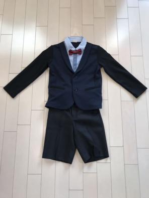 7d3ad14614568 petit main 男の子 スーツ 120