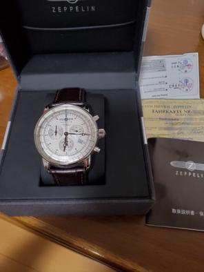 25906a30ee ツェッペリン ZEPPELIN ヒンデンブルク クオーツ 腕時計 7036-1. ¥ 25,800. ツェッペリン100周年記念モデル 保証書付き